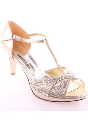 Dgn 4506 Kadın Abiye Ayakkabı