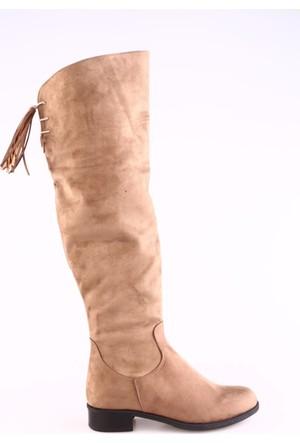 Dgn 2879 Kadın Knee Hing Çizme