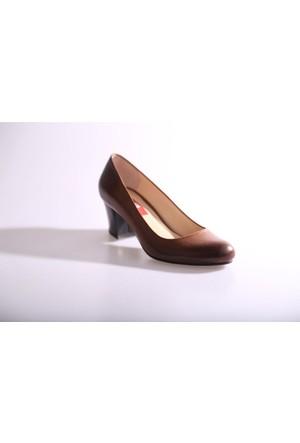Dgn 297 Kadın Kısa Topuklu Ayakkabı