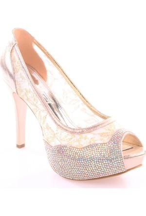Dgn 4446 Kadın Abiye Ayakkabı