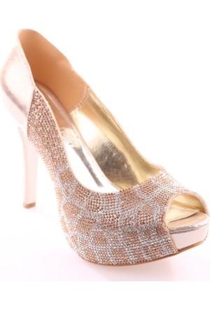 Dgn 4548 Kadın Abiye Ayakkabı