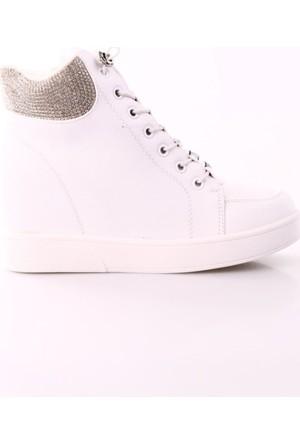 Guja 17K162-3 Kadın Gizli Topuk Bilek Ayakkabı