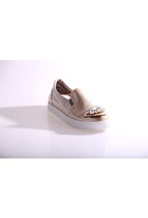 Hammer Jack 80K Kadın Önü Kristal Taşlı Ayakkabı