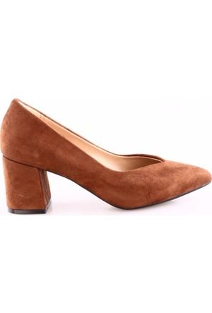 Park Moda K702 Kadın V Kesim Parmak Dekolteli Topuklu Ayakkabı