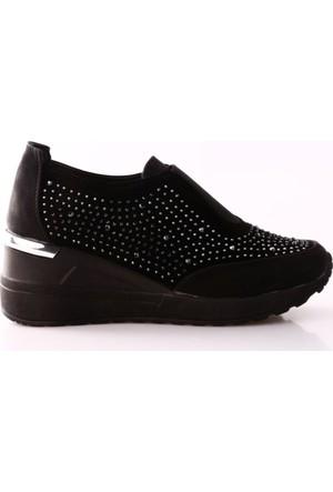 Park Moda K2802 Taşlı Dolgu Taban Spor Ayakkabı