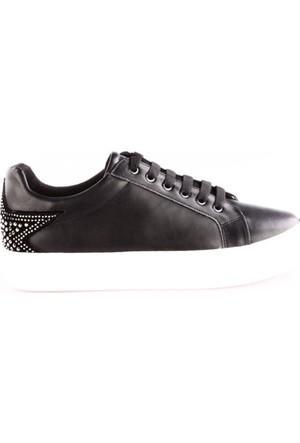 Park Moda K052 Kadın Arkası Yıldızlı Sneakers Ayakkabı