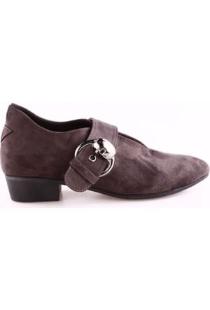 Park Moda K5400 Kadın Önü Dekolte Sivri Burun Oxford Ayakkabı