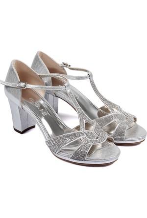 Gön Kadın Sandalet Gümüş 94655