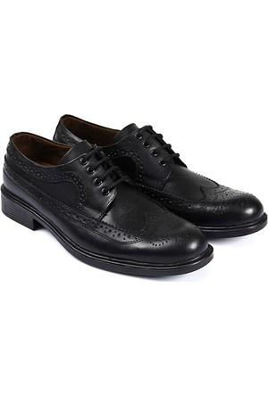 Gön Deri Erkek Ayakkabı Siyah 02269