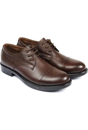 Gön Deri Erkek Ayakkabı Kahverengi 12021