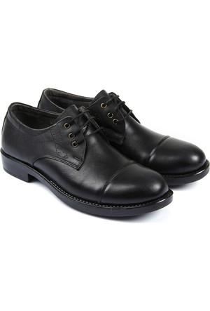Gön Deri Erkek Ayakkabı Siyah 12021
