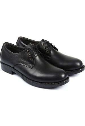Gön Deri Erkek Ayakkabı Siyah 12025