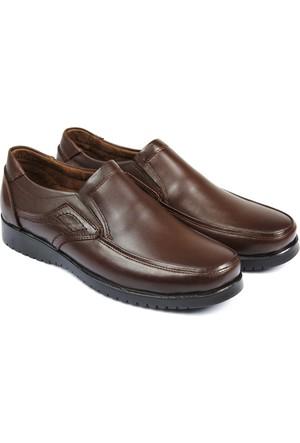 Gön Deri Erkek Ayakkabı Kahverengi 13202