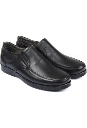 Gön Deri Erkek Ayakkabı Siyah 13202