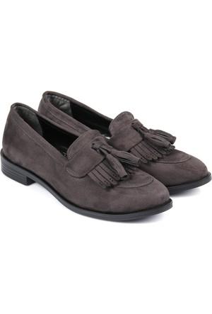 Gön Kadın Ayakkabı Gri 33923
