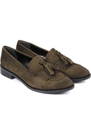 Gön Kadın Ayakkabı Yeşil 33923