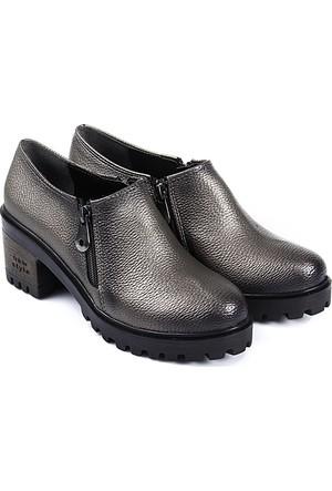Gön Kadın Ayakkabı Platin 40203