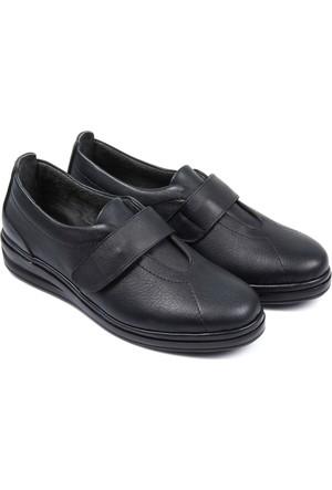 Gön Deri Kadın Ayakkabı Lacivert 42251