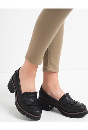 Gön Kadın Ayakkabı Siyah 55401