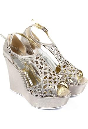 Gön Kadın Ayakkabı Dore 94774