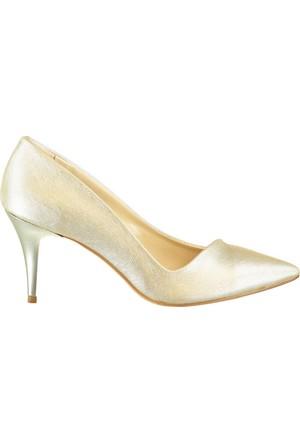 Pembe Potin Dore Ayakkabı