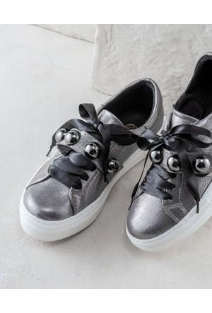 Elle Amorette Kadın Ayakkabı Kurşun