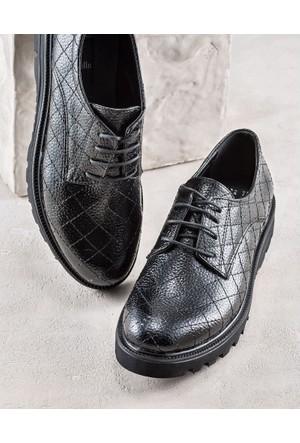 Elle Anabela Kadın Ayakkabı Siyah