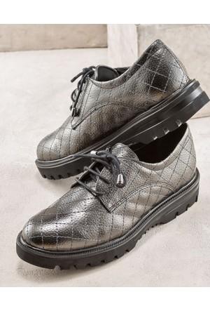 Elle Anabela Kadın Ayakkabı Bronz