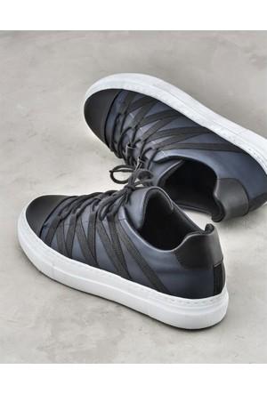 Elle Bernarda Kadın Ayakkabı Lacivert Siyah