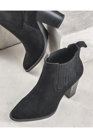 Elle Cesarino Kadın Bot Siyah