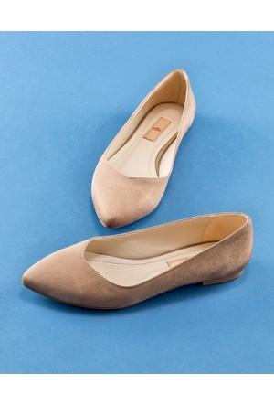 Elle Lanasa Kadın Ayakkabı Vizon