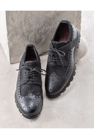 Elle Lazarus Erkek Ayakkabı Siyah