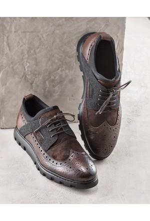 Elle Lazarus Erkek Ayakkabı Taba