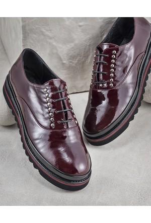 Elle Maurelle Kadın Ayakkabı Bordo