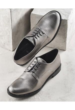 Elle Nicoletta Kadın Ayakkabı Kurşun