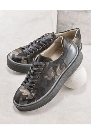 Elle Romano Kadın Ayakkabı Kamuflaj