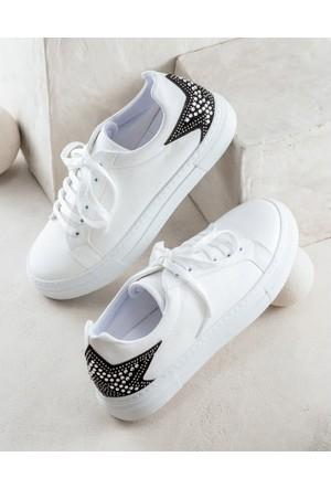 Elle Terryy Kadın Ayakkabı Beyaz