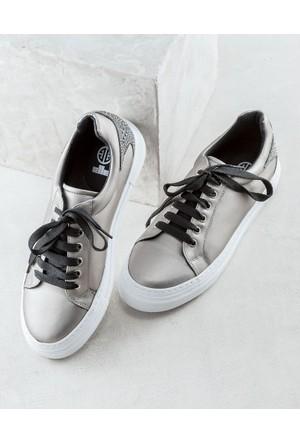 Elle Terryy Kadın Ayakkabı Kurşun