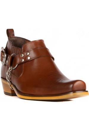FootCourt Erkek Kovboy Ayakkabısı Fix Taba 44