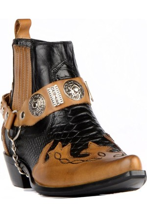FootCourt Erkek Kovboy Botu Gar Kahverengi 44