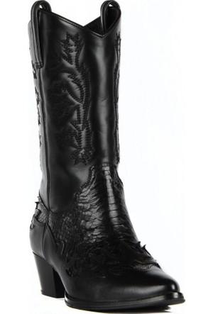 FootCourt Bayan Kovboy Çizmesi Dawn Siyah 40