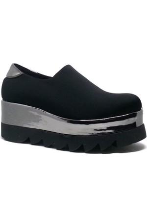 Shop And Shoes Kadın Ayakkabı Siyah 173-07-A