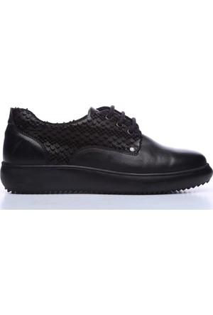 Kemal Tanca 165 72016 Kadın Ayakkabı Siyah