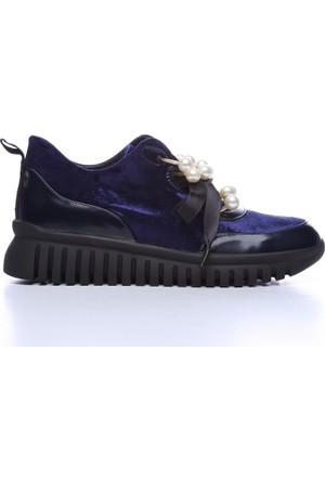 Kemal Tanca 515 3704 Kadın Ayakkabı Lacivert