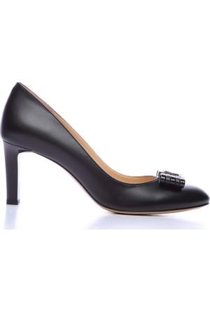 Kemal Tanca 613 23305 Kadın Ayakkabı Siyah