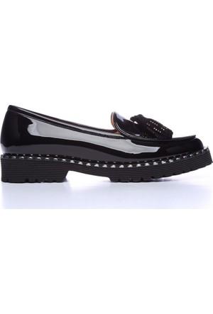 Kemal Tanca 122 8287 Kadın Ayakkabı Siyah