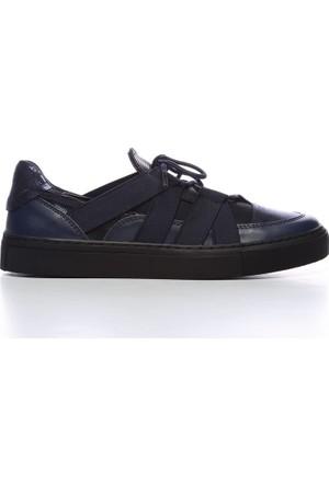 Kemal Tanca 402 1246 Kadın Ayakkabı Lacivert