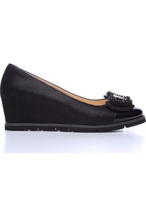 Kemal Tanca 122 8436 Kadın Ayakkabı Siyah