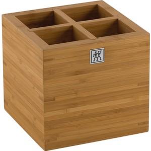 zwıllıng 4 bölmeli bambu gereç kutusu - büyük boy