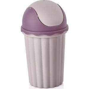 bayev mini masaüstü çöp kovası - lila
